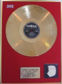 BUDDY HOLLY - 24 Carat Gold Disc LP - REMINISCING